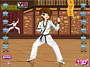 Karate Girl Dress Up