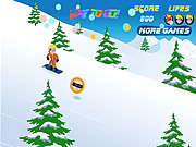Playing Naruto Snowboarding