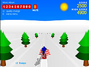 Play Sonic Snowboarding Online