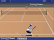 Playing Yahoo Tennis