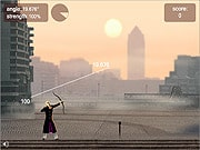 Playing Little John Archery 2
