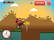Playing ATV Extreme Game