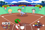 Playing Cartoon Baseball