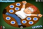 Playing Human Darts