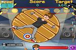 Playing Justin Bieber Darts